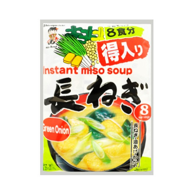 Product Detail - SHINSYU-ICHI Instant Miso Soup Green Onion Flavor 8bags - image 0