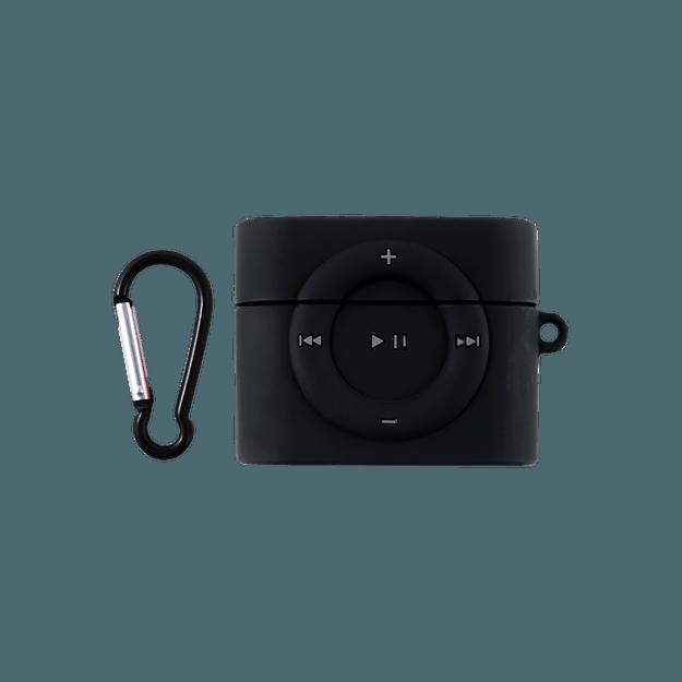 商品详情 - 苹果AirPods 硅胶保护套 耳机保护套 可爱个性ins风 适用于AirPods Pro 无线充电版 怀旧iPod MP3 - image  0