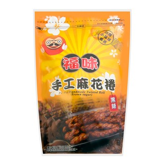 台湾 小琉球福味 黑糖手工麻花卷 200g