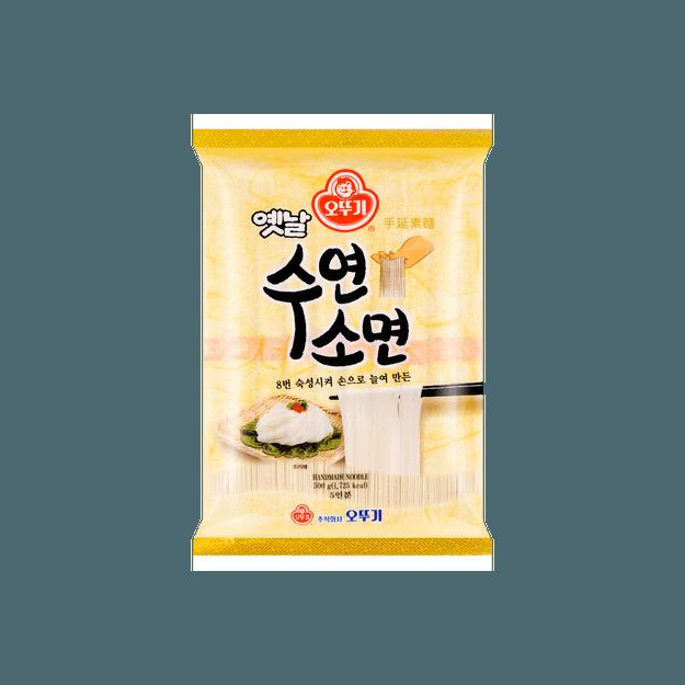 商品详情 - 韩国OTTOGI不倒翁 手擀面 干面条挂面 500g - image  0