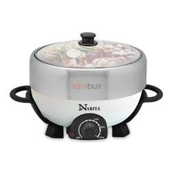 【全美最低价】美国NARITA 火锅烤肉多功能料理锅 4L NEC-402W (1年制造商保修)