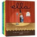 美国国家育儿出版物金奖绘本:小象艾拉逆商教育绘本(全4册)