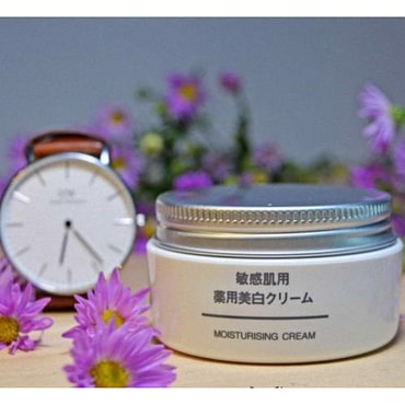 Muji Brightening Moisturizing Cream 45g