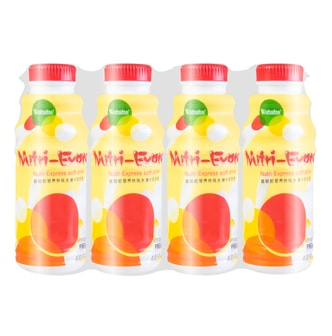 WAHAHA Fruit Flavored Milk Beverage Pineapple Flavor 4packs