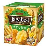 【日本直邮】CALBEE卡乐B JAGABEE宅卡B 薯条先生 淡盐原味 18g×5包装