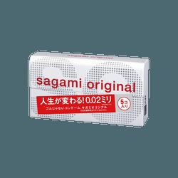 日本SAGAMI 幸福002 超薄安全避孕套 5片入
