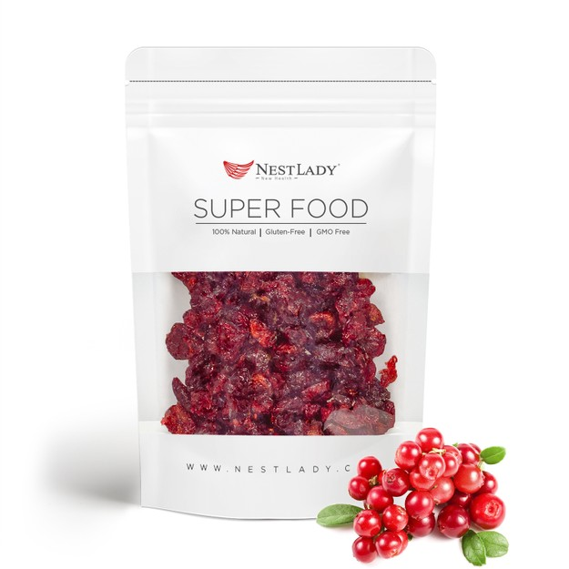 Product Detail - NESTLADY Dried Cranberries|Non GMO Vegan|No Artificial Color or Flavor Kosher 130g - image  0