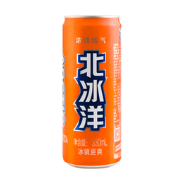 Orange Flavored Soda 330ml