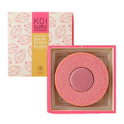 JAPAN ISHAYA  Valentine's day limited KOISURU CHOCOLAT  BAUM-KUCEN RUBY 1PC