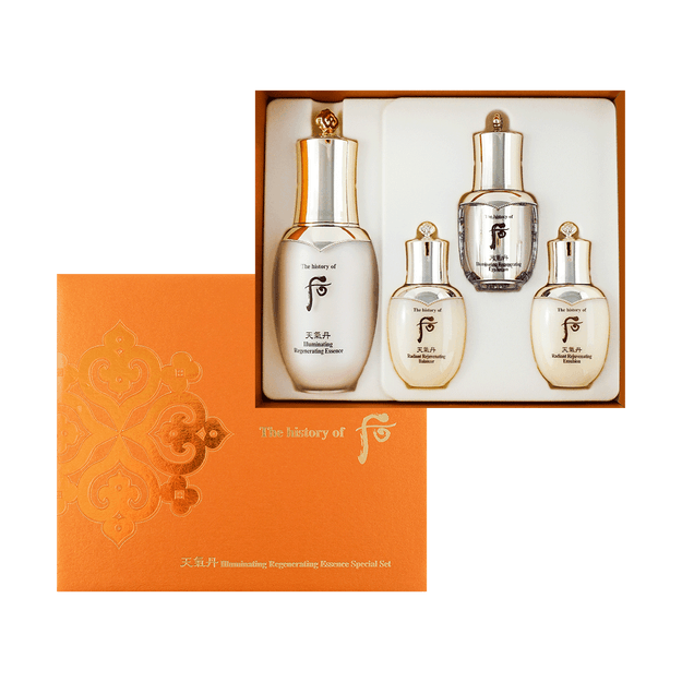 Product Detail - THE HISTORY OF WHOO Cheongidan Whitening Set 4 Pieces - image 0