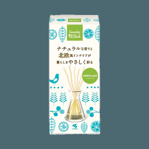 商品详情 - KOBAYASHI 小林制药||Sawaday 自然简约北欧风室内香薰||柠檬叶香 70ml - image  0