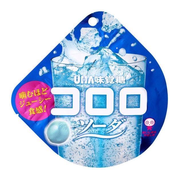 商品详情 - 【日本直邮】UHA悠哈味觉糖 全天然果汁软糖 苏打味 40g - image  0