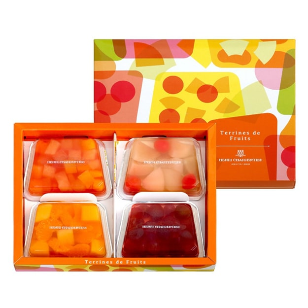 Product Detail - HENRI CHARPENTIER Seasonal Limited Fresh Fruit Jelly 4pc - image 0