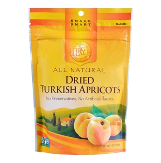 BIGCAL Dried Turkish Apricots No Preservatives No Artificial Flavors 113g