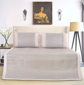QBEDDING Glacial Bing Si Rattan Mattress Topper Queen Size