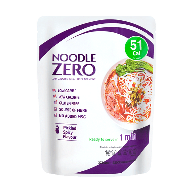 Product Detail - Noodle Zero   Pickled Spicy Flavor Noodle 51Cal 375g - image 0