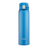 ZOJIRUSHI One Touch Stainless Steel Vacuum Thermal Bottle Matte Blue 600ml SM-SD60AM