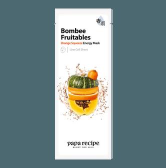 韩国PAPA RECIPE春雨 果蔬系列 橙色密集能量面膜 单片入