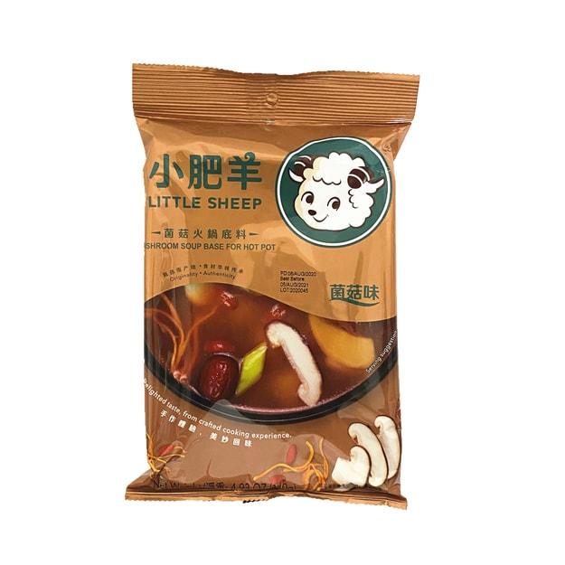 商品详情 - 小肥羊 菌菇火锅底料 140克 - image  0