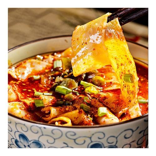 BAIJIA Sichuan Broad Noodle Beef Hot Pot