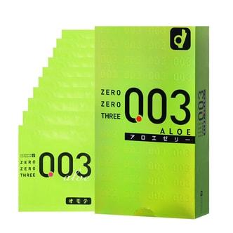 OKAMOTO 003 Very Thin Condoms Aloe 10pcs