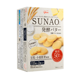 SUNAO Soy Milk Butter Cookies 30pcs