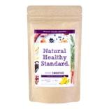 日本NATURAL HEALTHY STANDARD 青汁酵素果蔬代餐粉奶昔 香蕉蓝莓味 160g