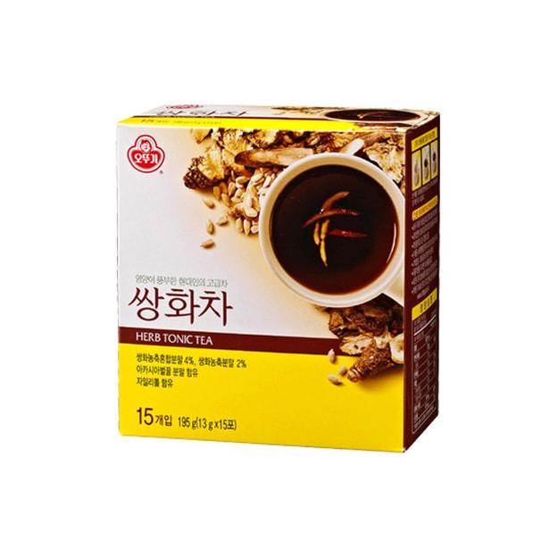 商品详情 - 韩国OTTOGI不倒翁 滋阴排毒双花茶 15份入 195g - image  0
