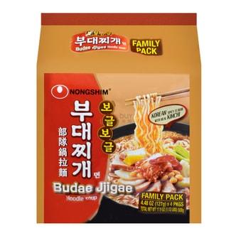 NONGSHIM Budae Jjigae Instant Noodles 4 packs