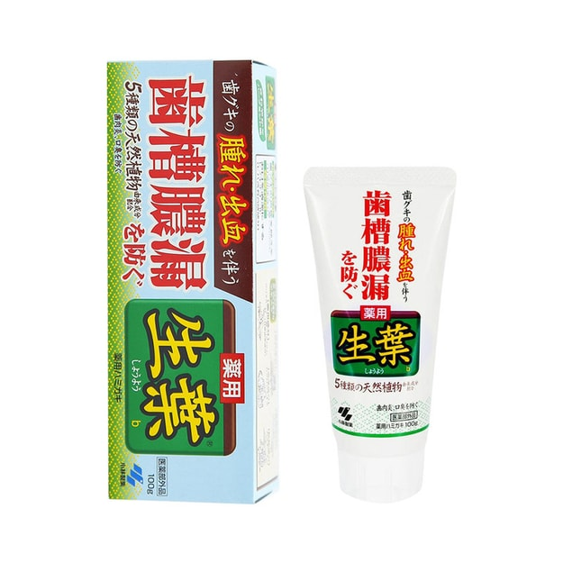 Product Detail - JAPAN KOBAYASHI Toothpaste Green 100g - image 0