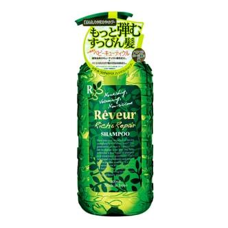 日本REVEUR 丰盈修护无硅油洗发水 500ml 适合染烫发质