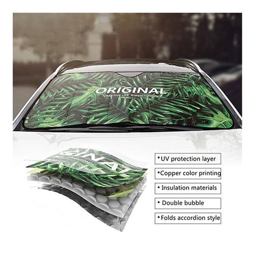 LORDUPHOLD Car Windshield Sunshade Car Window Windscreen Cover Sun Shade Visor Car-covers Solar Protection Haore 1 pcs