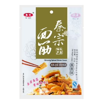 QINZONG Spiced Gluten Snack Soy Sauce 75g