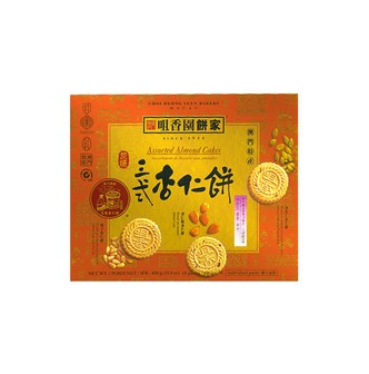 CHOI HEONG YUEN BACKERY Assorted Almond Cales 450g