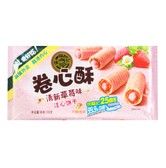 HSUFUCHI Roll Cookie Strawberry Flavor 105g