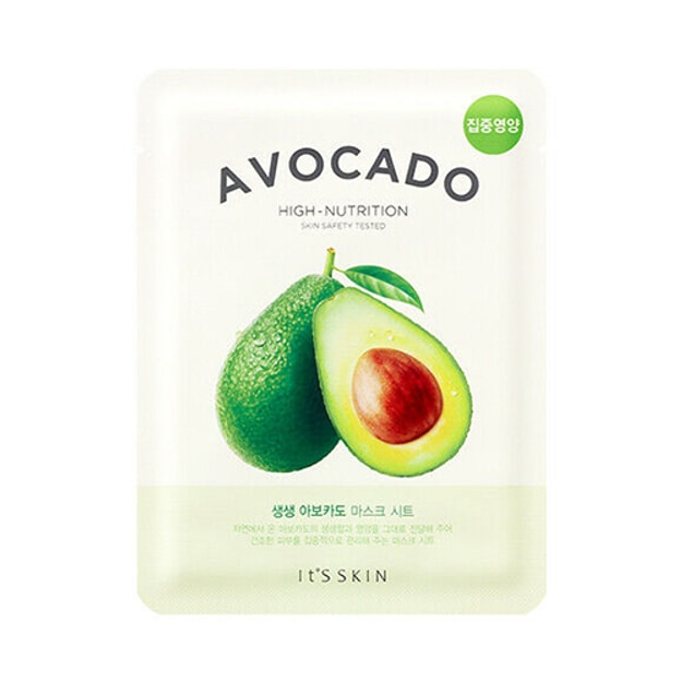 Product Detail - IT\'S SKIN Avocado High-Nutrition Mask Sheet 1pc - image 0