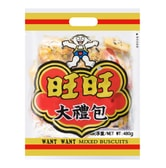 WANT WANT Mixed Biscuits Family Size 480g