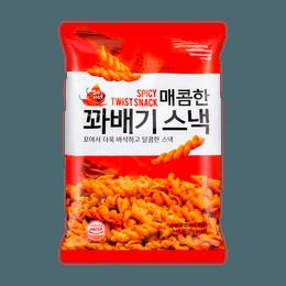 【韩国零食必买】韩国MATNARAE 扭扭脆 甜辣味 140g