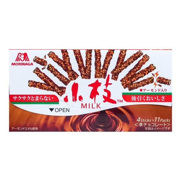 商品详情 - 日本MORINAGA森永 小枝巧克力棒 11包入 64.9g - image  0