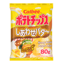 CALBEE Potato Chips Honey Butter 80g