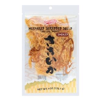日本SHIRAKIKU 烟熏鱿鱼丝 大包装 170.1g