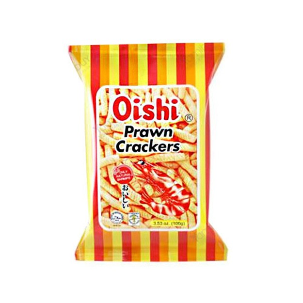 Product Detail - OISHI Prawn Crackers Original Flavor 60g - image 0