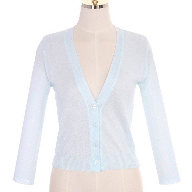 ATTRANGS Cardigan SkyBlue free size