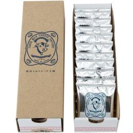 DHL直发【日本直邮】东京牛奶芝士工厂  新海盐卡芒贝尔干酪饼干 10枚装
