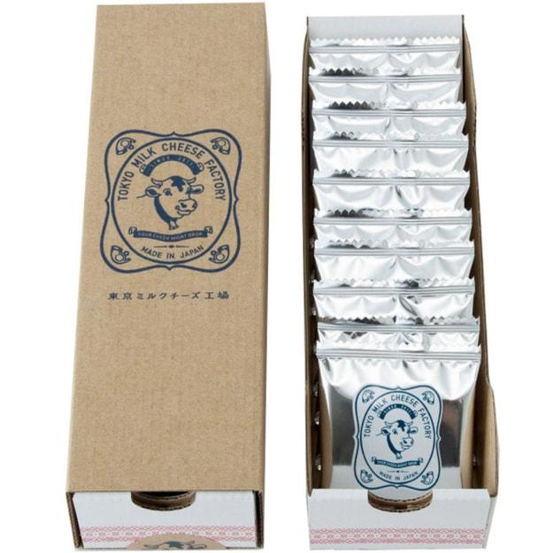 商品详情 - DHL直发【日本直邮】东京牛奶芝士工厂  新海盐卡芒贝尔干酪饼干 10枚装 - image  0