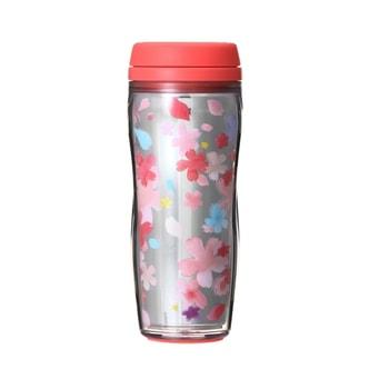 【日本直邮】星巴克2018限定樱花双侧镜面树脂随行杯 355ml