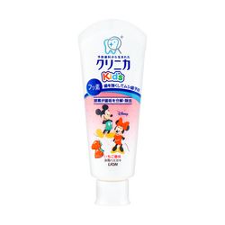 Japan Lion Mickey Kid's Toothpaste #Strawberry 60g