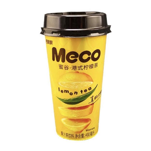商品详情 - 香飘飘 MECO 港式柠檬茶 400ml - image  0
