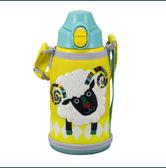 【日本直邮】日本 TIGER 虎牌儿童保温杯/直饮双盖 MBR-A06G Y 小绵羊 便携学生水杯(直饮盖+保温盖) 600ml