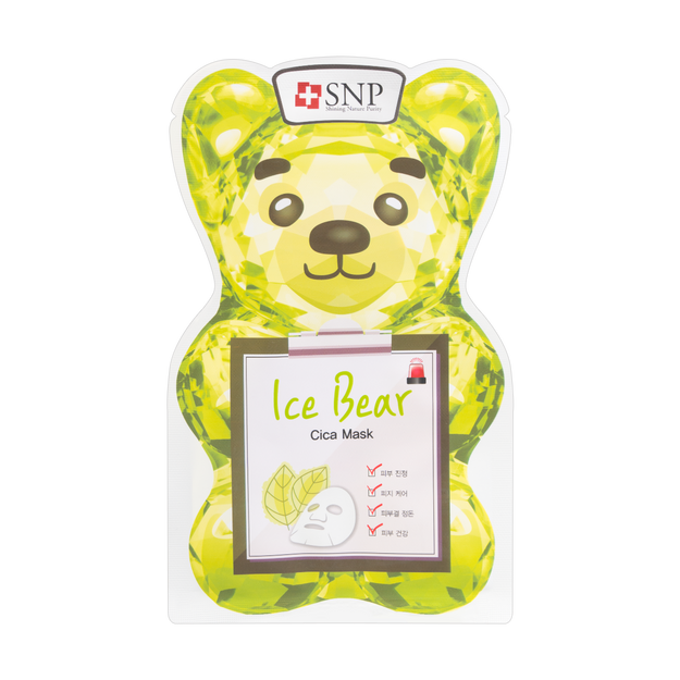 Product Detail - Korea SNP Ice Bear CICA MASK 1sheet - image 0